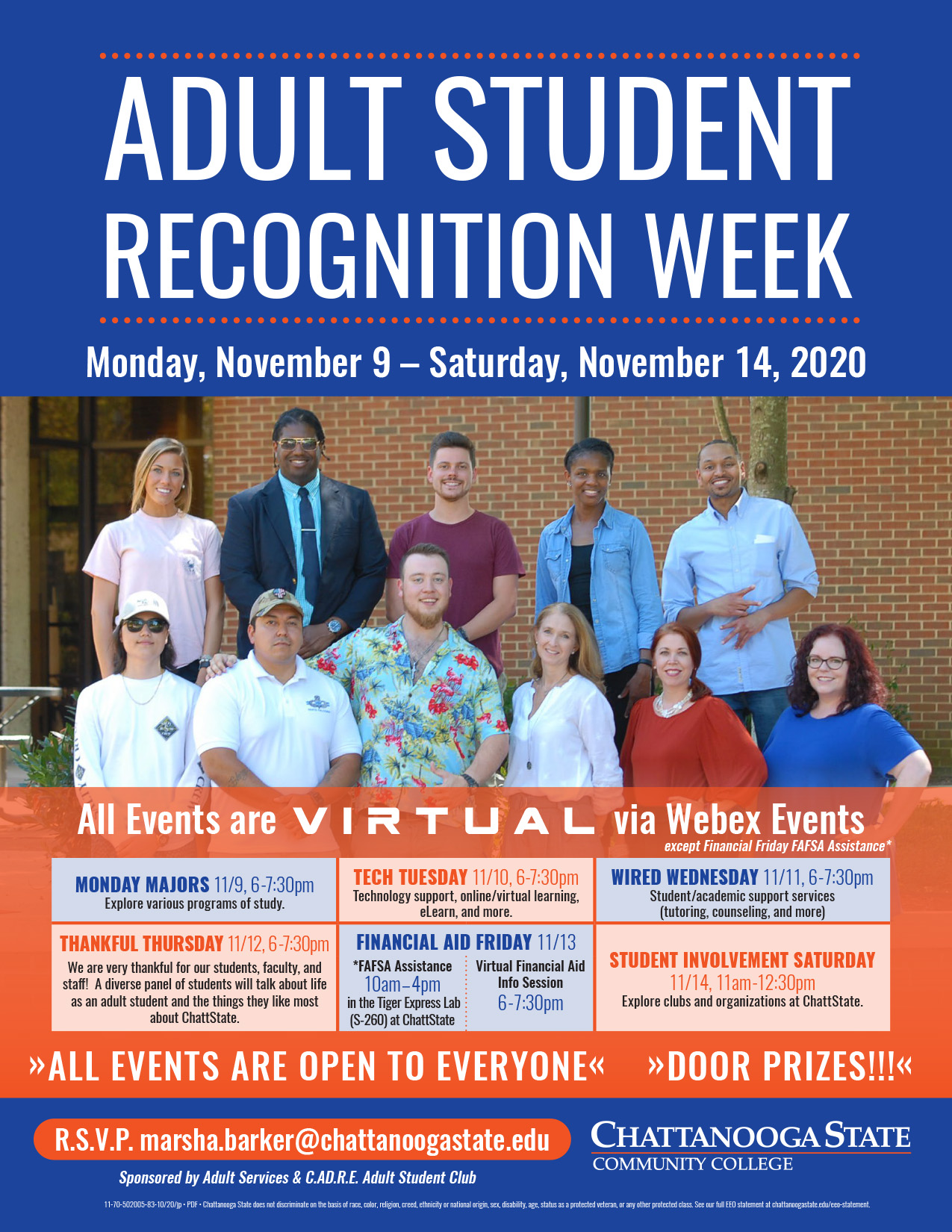 2020 Adult Student Recognition Week