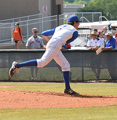 2015 TCCAA Baseball Tournament Pitcher