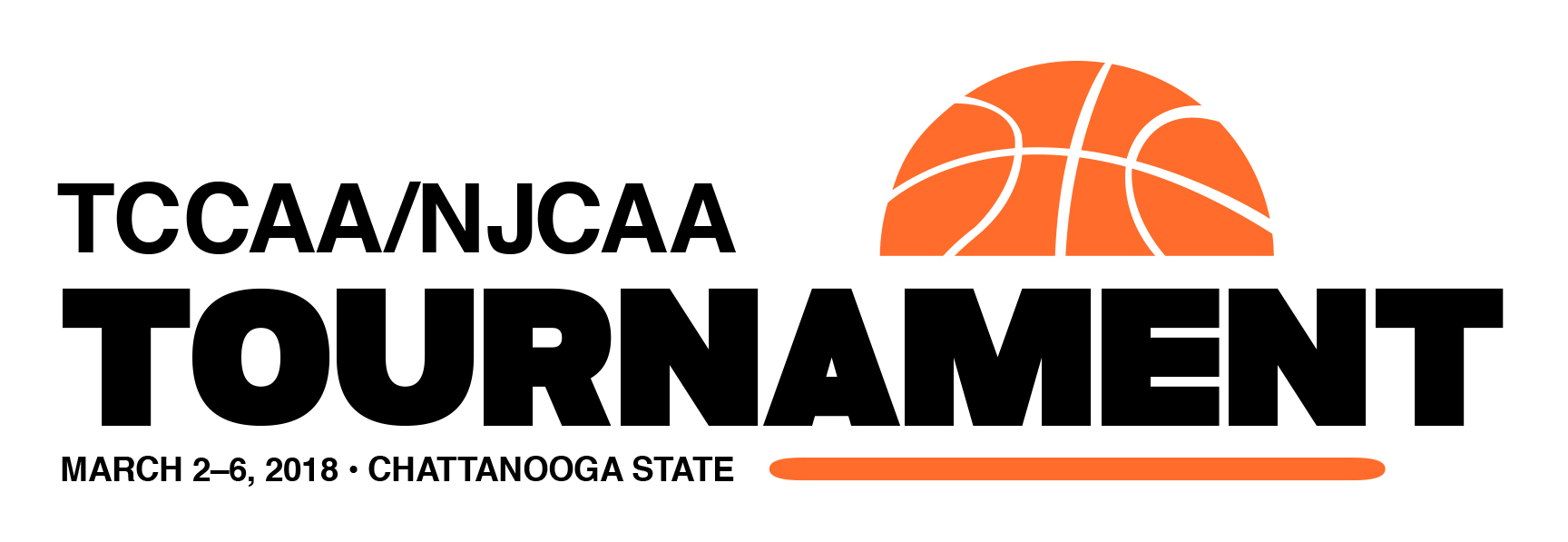 TCCAA 2018 tournament logo