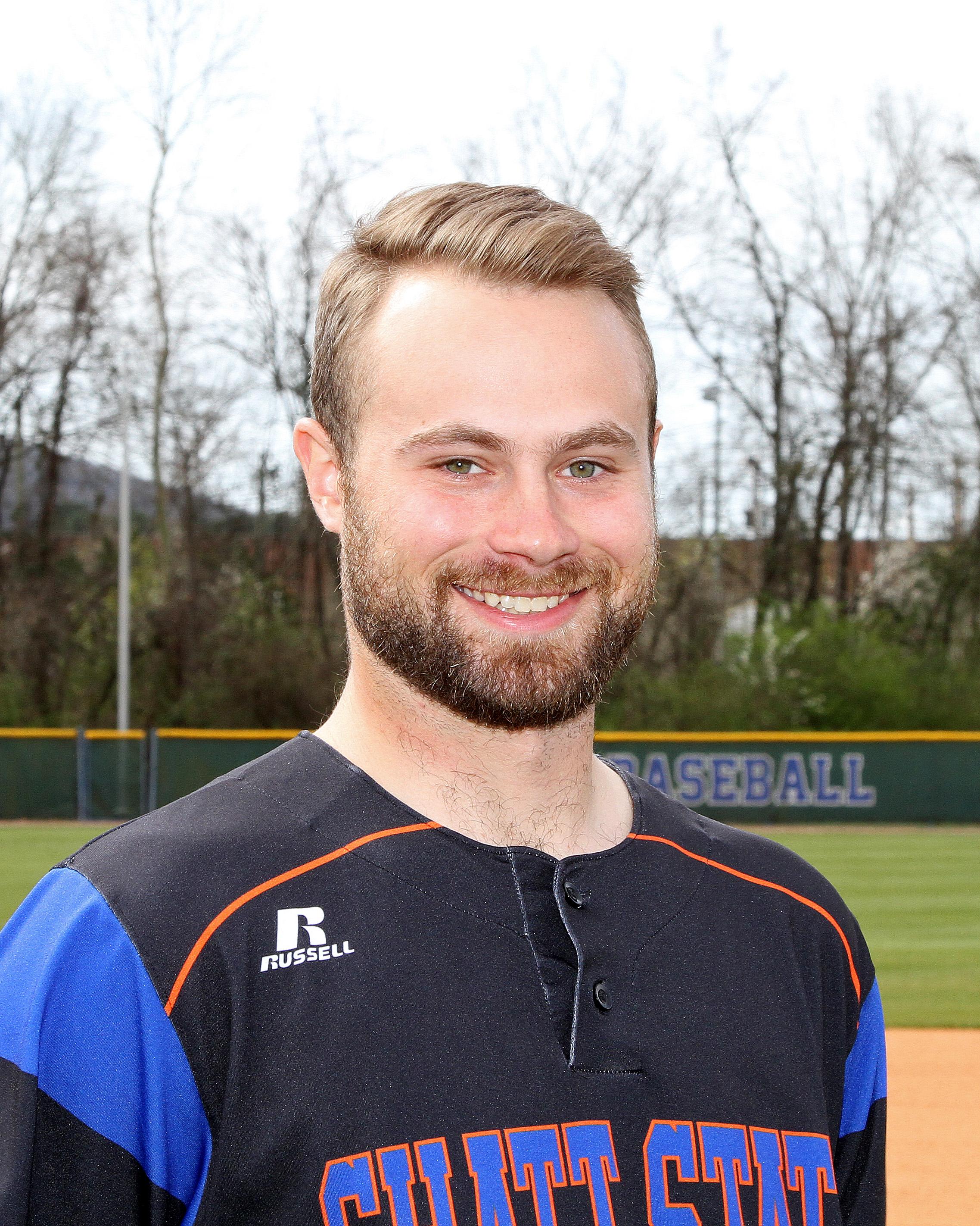 baseball assistant coach Drake Robinson
