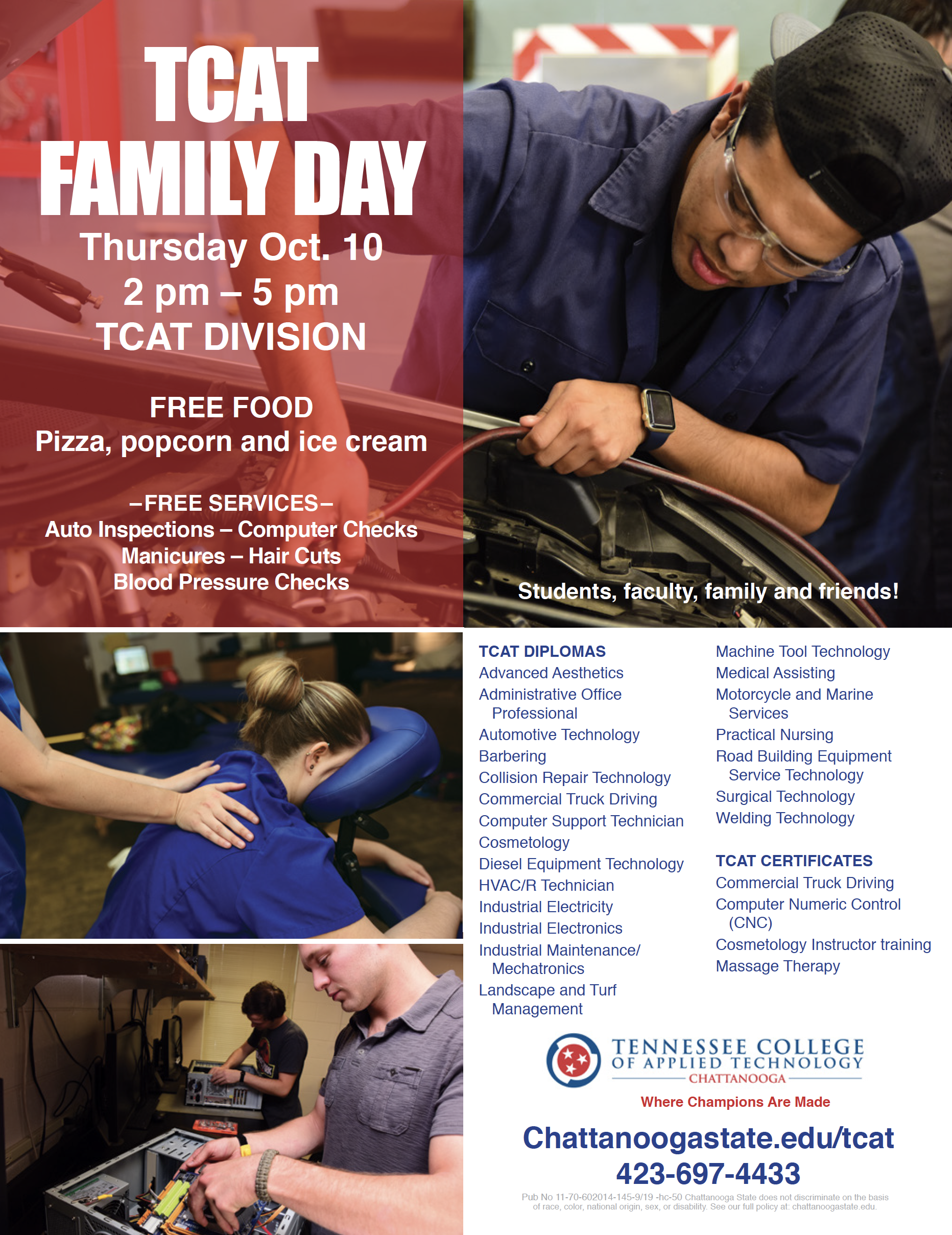 TCAT Family Day flyer