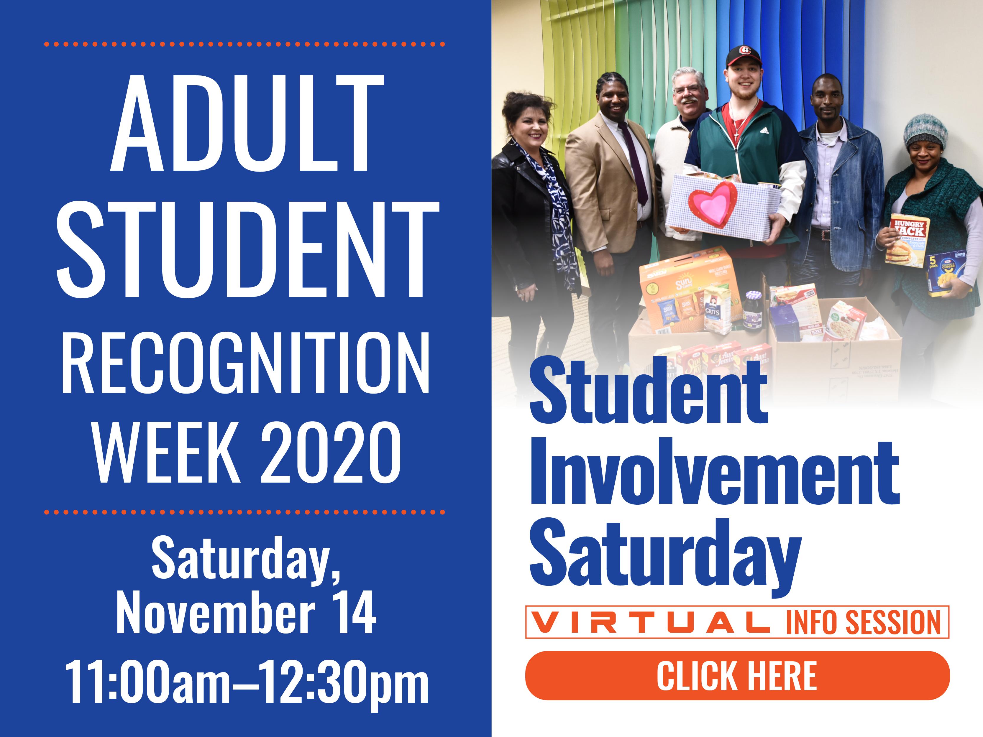 Student Involvement Saturday