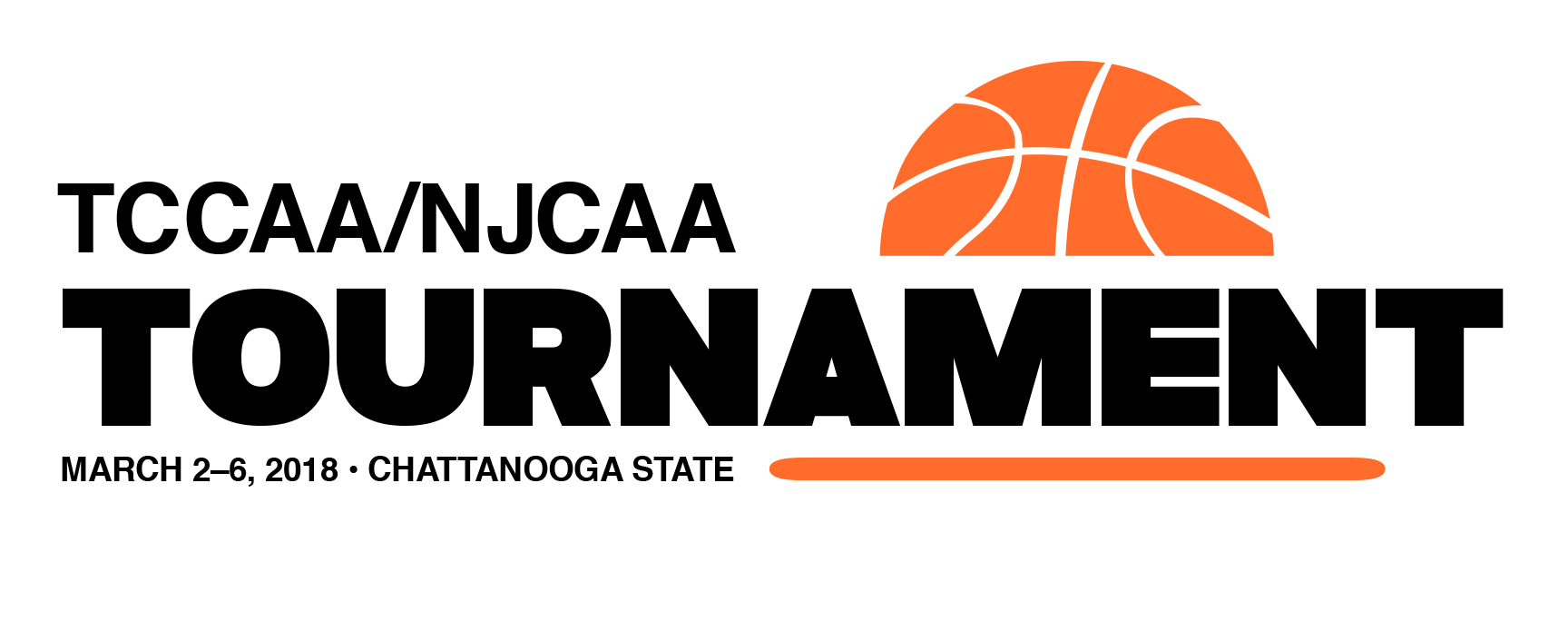 TCCAA 2018 tournament logo