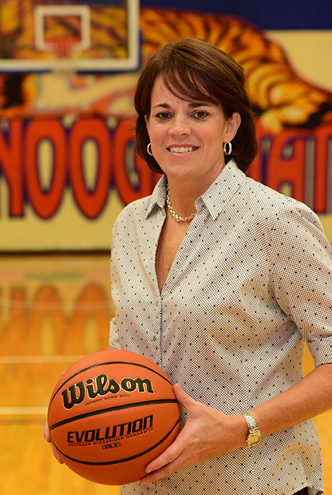 women's basketball coach Stacey Franklin