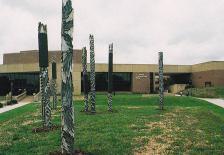 Toltec Totems Sculpture