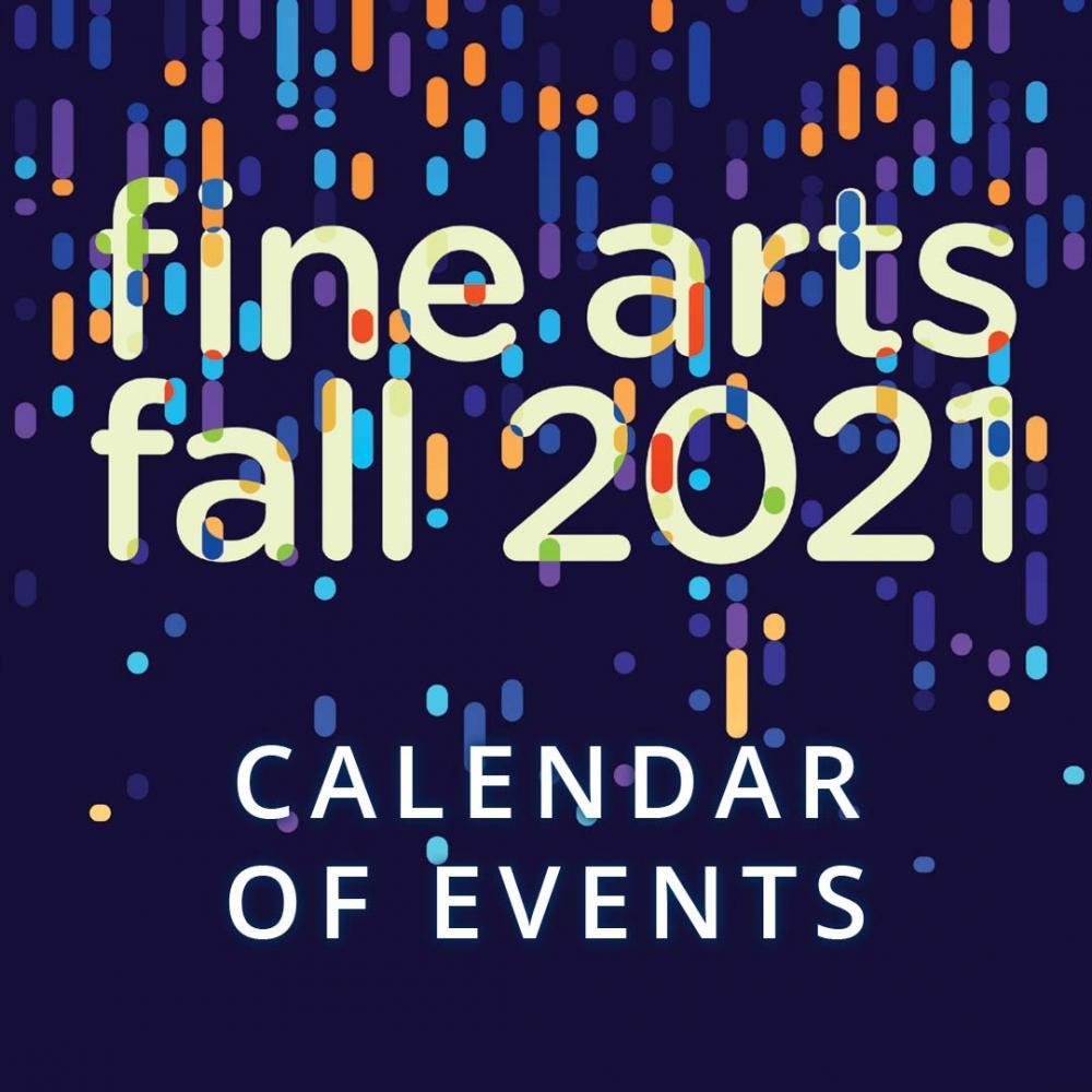 Fine Arts calendar