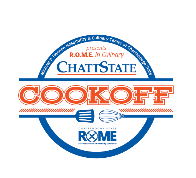 ROME in Culinary- cookoff logo