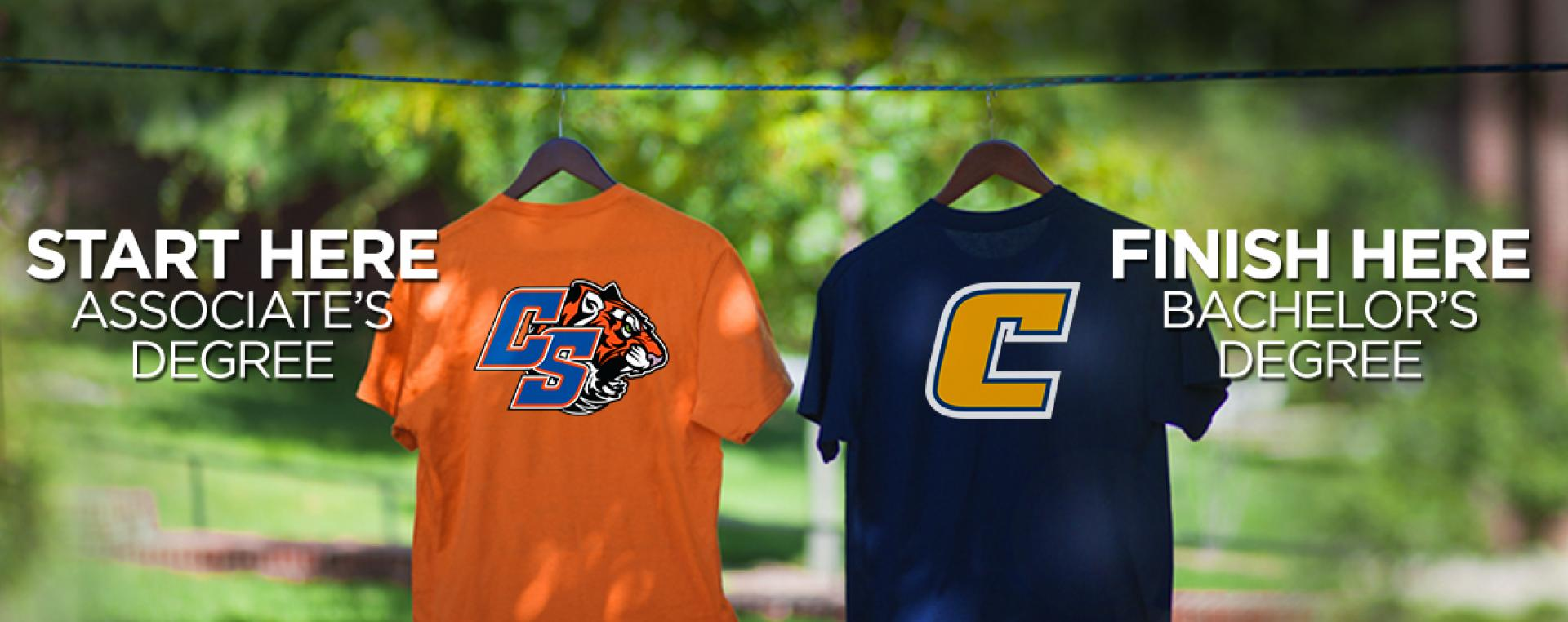 ChattState and UTC t-shirts