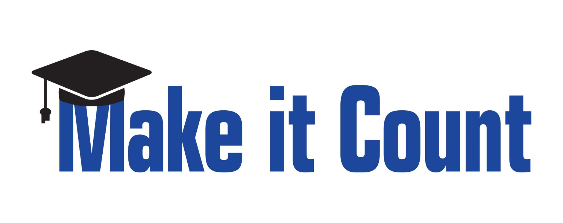 make it count logo