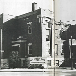 CSTI downtown campus 1965