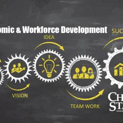 economic & workforce development flowchart to success