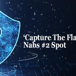 capture the flag nabs #2 spot