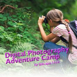 digital photgraphy adventure camp