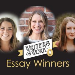 winners pictured of the writers at work essay contest
