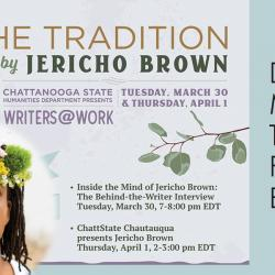 jericho brown and writers@work free events