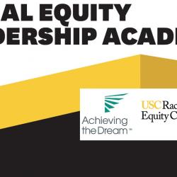 racial equity leadership academy with logos