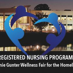 registered nursing program wellness fair for the homeless