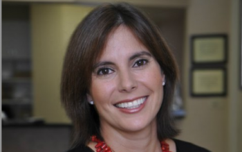 Head shot of alum and new board chair for ChattState Foundation Dr. Maricela Rodriguez