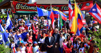 Latin Festival Group Photo from 2017