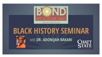 bond heritage series black history month