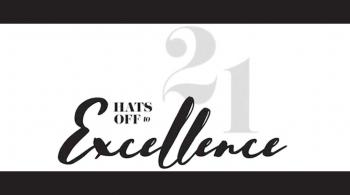 hats off to excellence 21 artwork