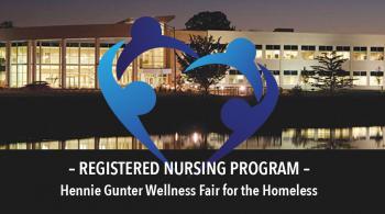 registered nursing program wellness fair for the homeless