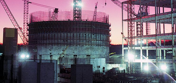 construction of a dome building