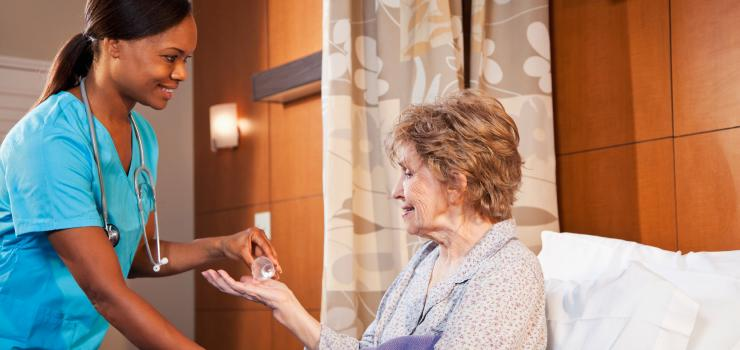 nursing and patient