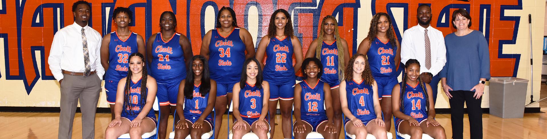 women's basketball team banner photo